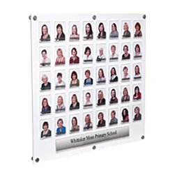 Acrylic Staff Display Boards John Hunt Photography